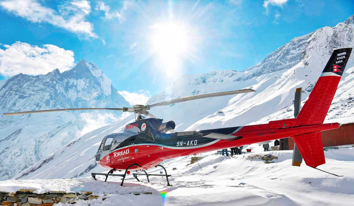 Annapurna Base Camp Helicopter Charter