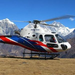Helicopter Charter from Lukla to Namche