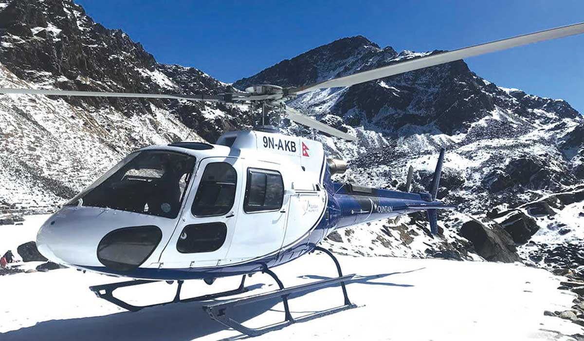 Helicopter Charter in Nepal Helicopter Charter Cost in Nepal