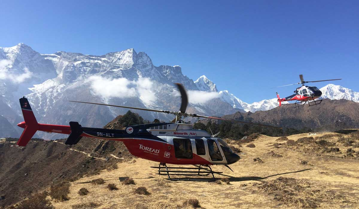 Langtang Helicopter Charter
