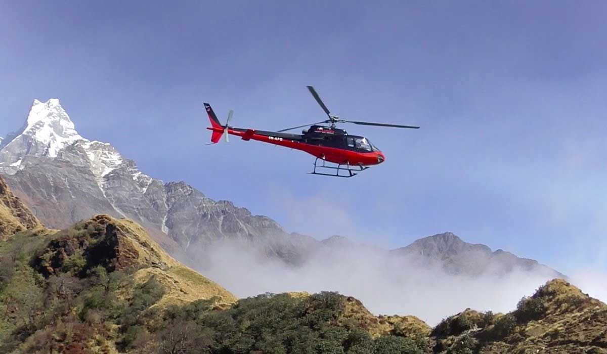 Mardi Himal Base Camp Helicopter Charter