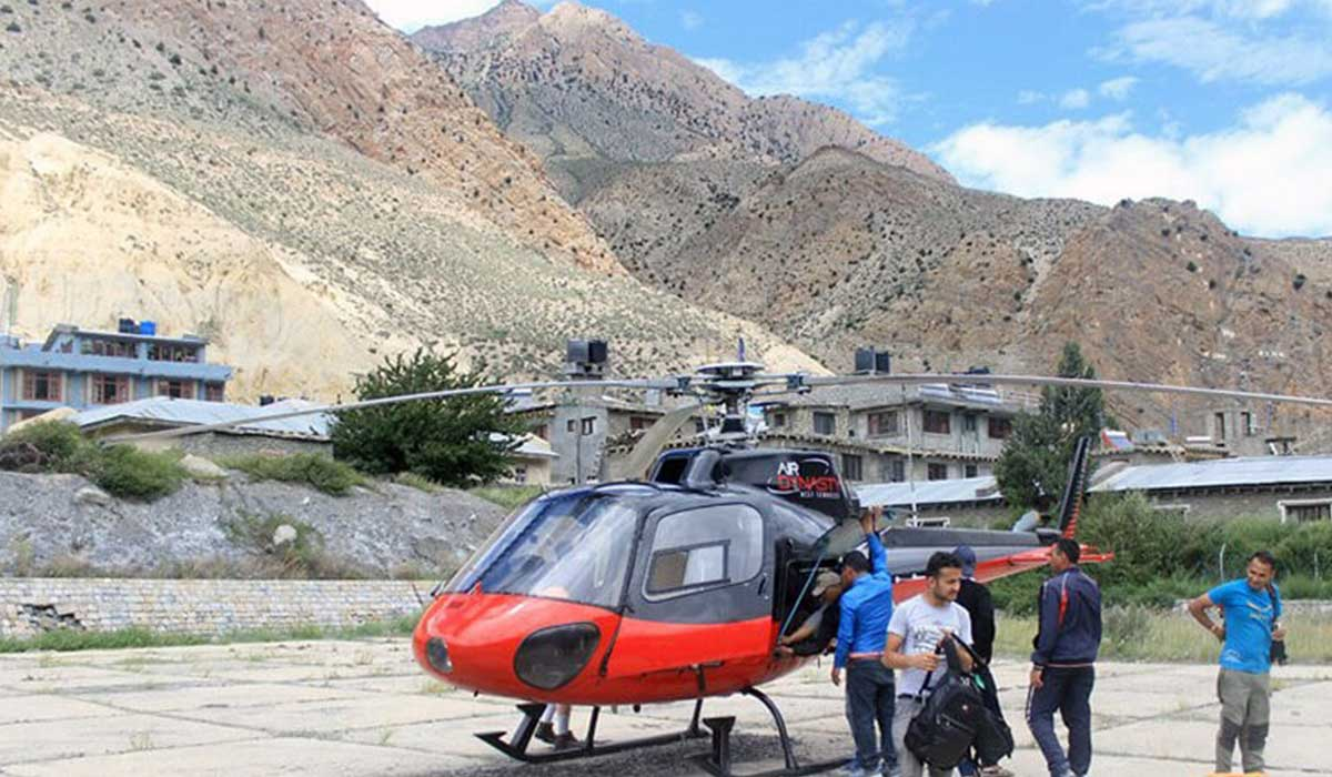 Muktinath Helicopter Charter