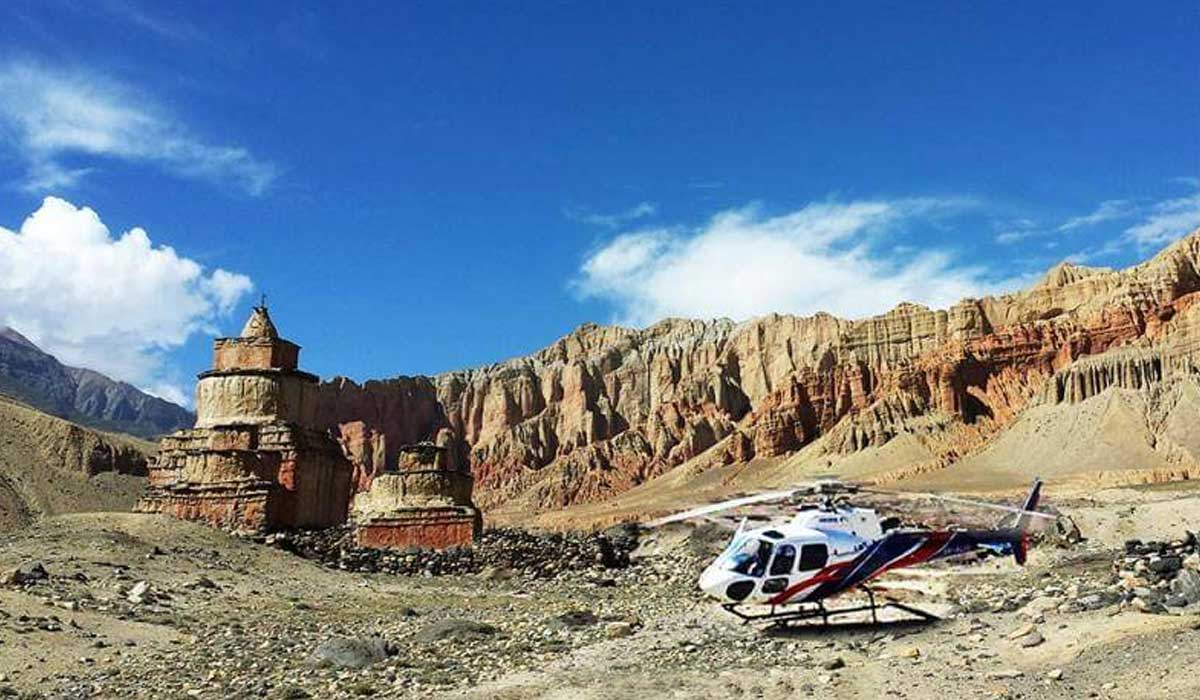Upper Mustang Helicopter Charter