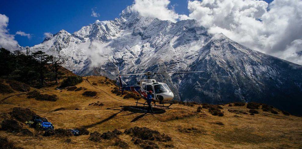 Dzonglha Helicopter rescue from jongla