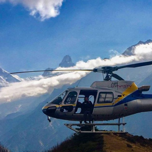 Helicopter Charter from Lukla to Kala Patthar