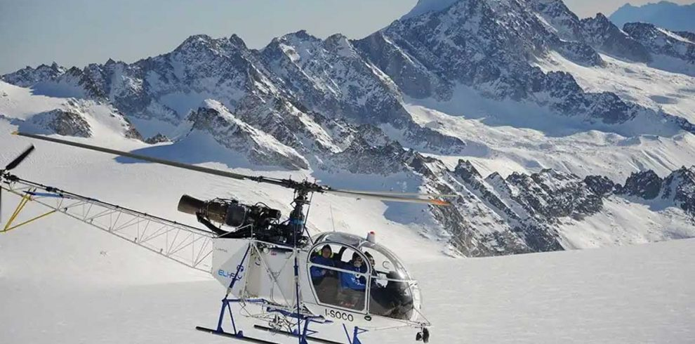 Helicopter Rescue from Lobuche