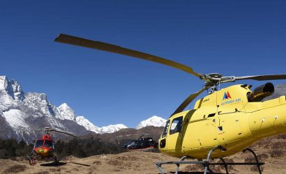 Helicopter Rescue from Pheriche