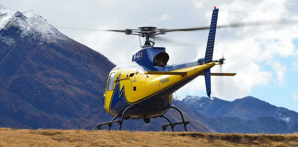 helicopter rescue from khumjung